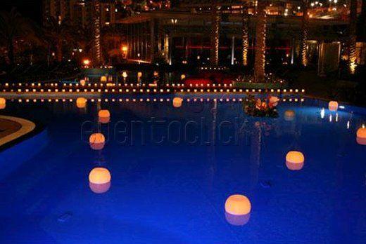 Velas for Velas para piscinas