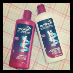 shampoo e condicionador Wella