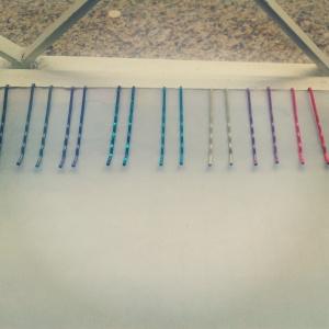 grampos coloridos