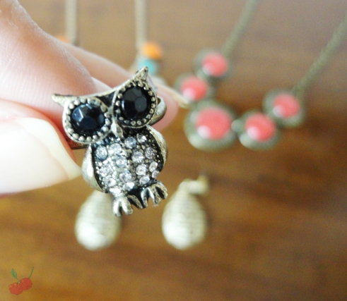 anel coruja ebay