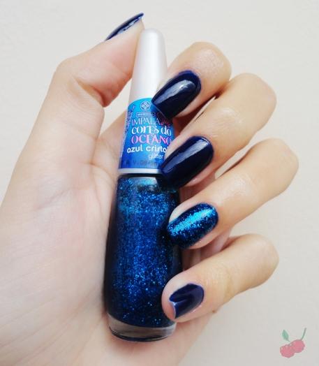 azul biônico e azul cristalino