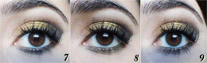 glitter dourado