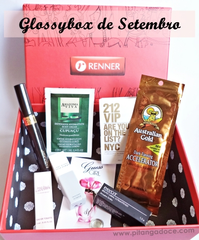glossybox by renner setembro