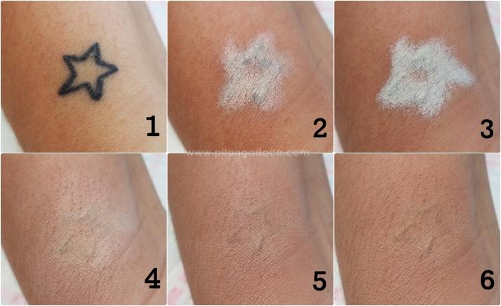tatuagem maquiagem
